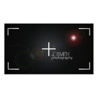 Cartões de visitas da fotografia