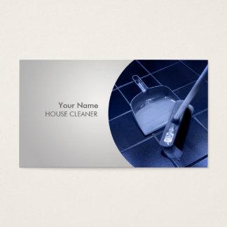 Cartões de visita para profissionais da limpeza na Zazzle
