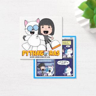 Cartões de visitas de Anne & de Pythagoras