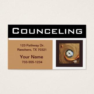 Cartões de visitas de Councelor