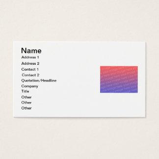 Cartões de visitas de DIY para projetar seus