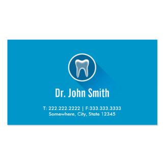 Cartões de visitas dentais da nomeação do dente