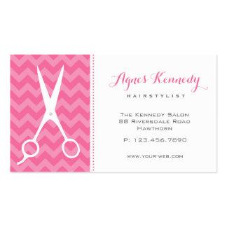 Cartões de visitas do cabeleireiro modernos