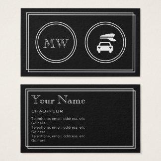 """""""Cartões de visitas do Chauffeur do filme Cartão De Visitas"""