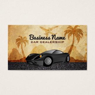Cartões de visitas do concessionário automóvel