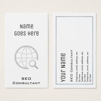 """Cartões de visitas """"essenciais"""" do consultante de"""