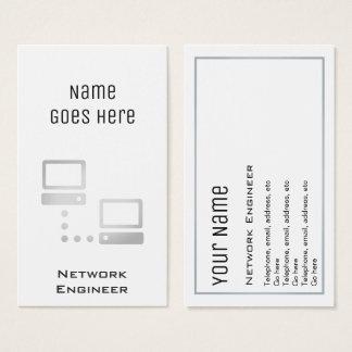 """Cartões de visitas """"essenciais"""" do engenheiro da"""