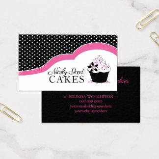 Cartões de visitas Home da padaria do divertimento