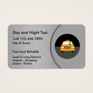 Cartões de visitas legal do táxi