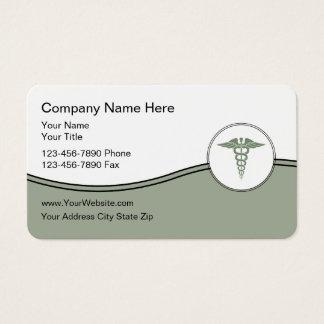 Cartões de visitas médicos do negócio do tema