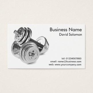Cartões de visitas pessoais do instrutor da