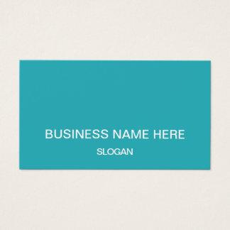 Cartões de visitas profissionais minimalistas da