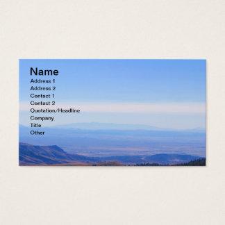 Cartões de visitas rochosos da imagem da