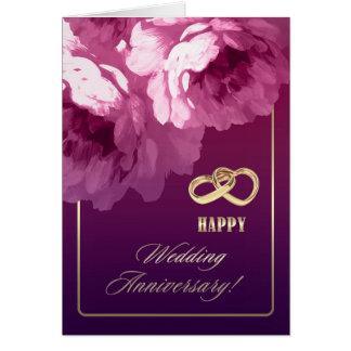 Cartões do aniversário de casamento