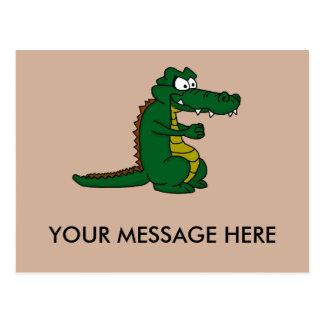Cartões do design do crocodilo e produtos de papel