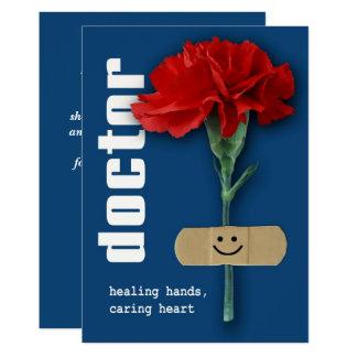 Cartões do Dia Customizável dos doutores felizes Convite 12.7 X 17.78cm