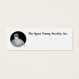 Cartões do logotipo de Tweep do espaço