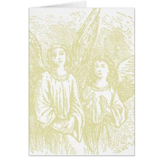 Cartões dos anjos do Natal