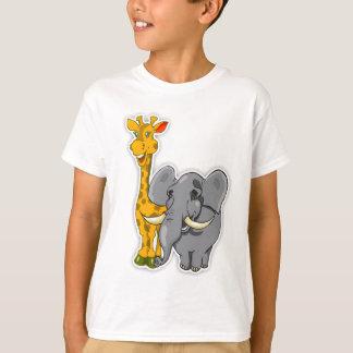 Cartões dos fósforos da camisa da criança T do