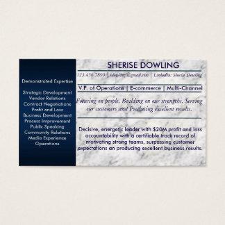 Cartões dos trabalhos em rede de Résumé
