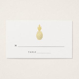 Cartões elegantes da escolta do casamento do