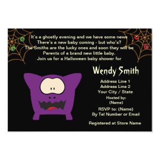Cartões engraçados do convite do chá de fraldas do