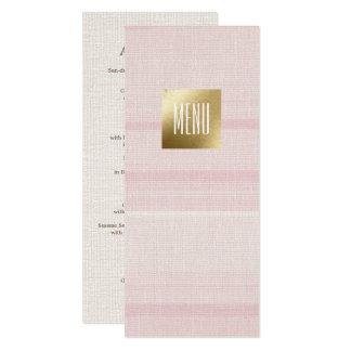 """Cartões feitos sob encomenda do menu do casamento convite 10.16"""" x 23.49cm"""