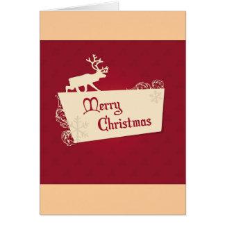 Cartões festivos do Feliz Natal