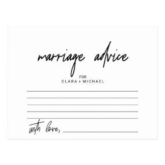 Cartões lunáticos do conselho do casamento da