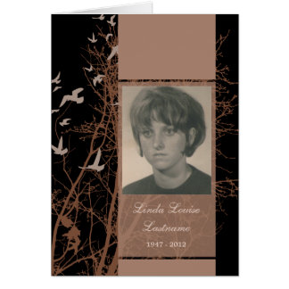 cartões memoráveis: silhouscreen a noite