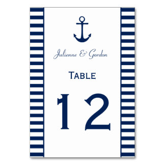 Cartões náuticos da mesa das listras brancas dos
