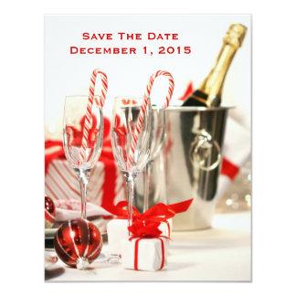 Cartões salve a data da celebração do feriado convite 10.79 x 13.97cm