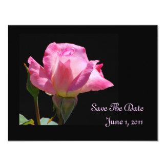 Cartões salve a data da princesa Aumentação Convites Personalizados