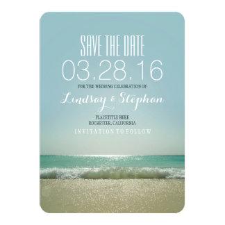 Cartões salve a data modernos do casamento de convite 11.30 x 15.87cm