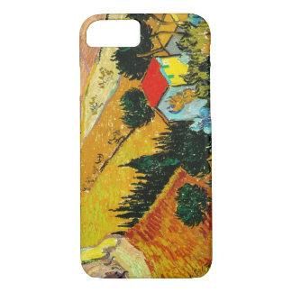 Casa da paisagem e Ploughman Vincent van Gogh Capa iPhone 7