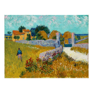 Casa da quinta em belas artes de Provence (F454) Poster