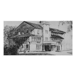 Casa de Castilani Cartão Com Foto