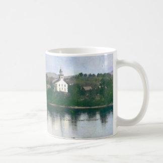 Casa de reunião livre velha, Bingham Maine Caneca De Café
