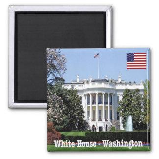Casa do branco de Washington dos Estados Unidos da Ímã Quadrado
