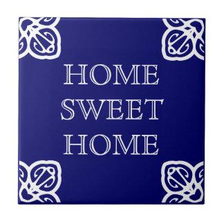 Casa doce Home Azulejo Quadrado Pequeno