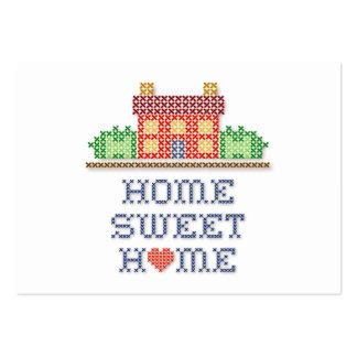 Casa doce Home Cartão De Visita Grande