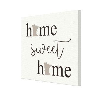 Casa doce Home com canvas dos logotipos de