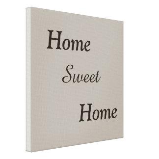Casa doce Home, impressão das canvas, decoração