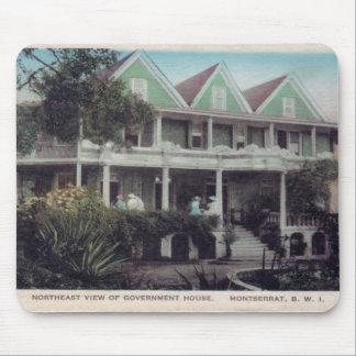Casa Montserrat. do governo Mousepad