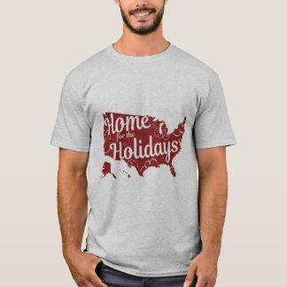 Casa para a camisa dos homens dos feriados