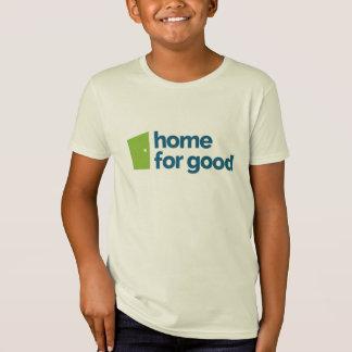 Casa para o bom Tshirt marcado - crianças
