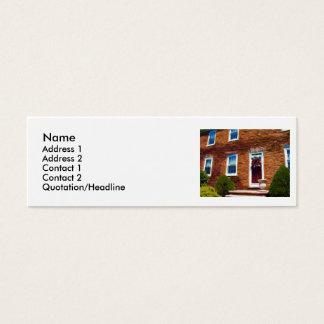 Casa velha do Flagstone Cartão De Visitas Mini