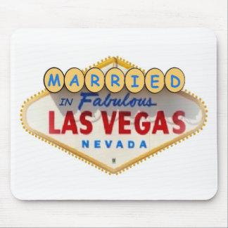 Casado em Las Vegas fabuloso Mousepad