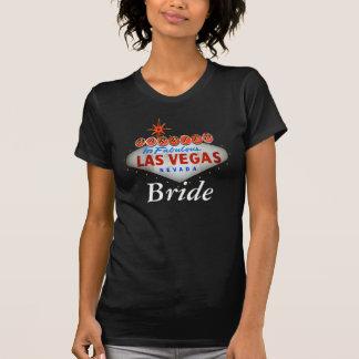 Casado na camisa fabulosa da noiva de Las Vegas Tshirt