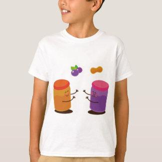 Casal PBJ bonito Camiseta